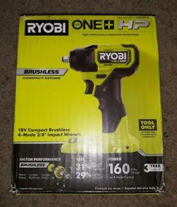 "Ryobi ONE + HP PSBIW01B 18V Cordless 4-Mode 3/8"" Impact Wrench NEW"