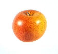 Artificial Jonagold Apple Large Plastic Fruit Round Speckled Red Apples Fake