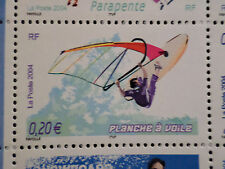 FRANCE 2004, timbre 3693, SPORTS de GLISSE, PLANCHE A VOILE, neuf**, MNH STAMP