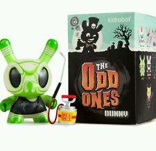 "Kid robot The odd Ones Dunny Glow in the Dark 3"" Bugga Bugga figure. New in box"