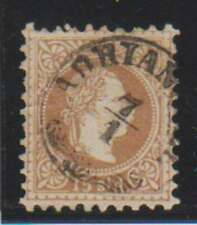 A7756: Austria, Offices in Turkey #7I Used; Cv $160