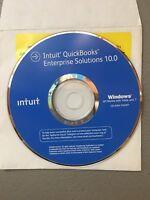 QuickBooks Enterprise 10 R1  Reinstallation Disc (No License)