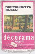 CAPPUCCETTO ROSSO - DECORAMA - DIVENTERETE REGISTI CON I TRASFERELLI A SECCO