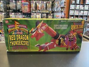 1994 Bandai Mighty Morphin Power Rangers Red Dragon Thunderzord In Box