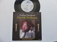 LUTHER VANDROSS Give me the reason BO Film OST Ruthless people A7288 RRR