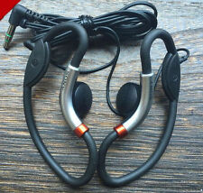 Sony MDR-AS20J Clip-on Ear Hook Sport Running Headphones Soft Style Discontinued