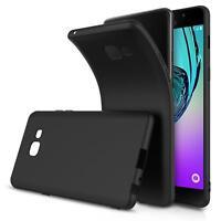 Slim Case Samsung Galaxy A3 2017 Handy Hülle Schutzhülle Silikon Schwarz Tasche