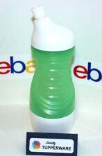 Tupperware Bottle Mini Sports 14 oz. Green & White Removable Base Cup