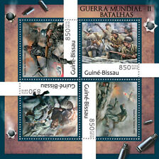 More details for guinea-bissau military stamps 2012 mnh wwii ww2 battles berlin okinawa 4v m/s