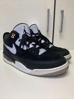 Air Jordan 3 Retro Tinker Hatfield Black Cement Men's Size 10.5 CK4348-007