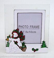 Fotorahmen SC Collection 7,5 x 10 cm  zum aufstellen Weihnachtsmotiv Glas