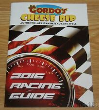 2016 Gordo's Cheese Dip NASCAR Racing Guide