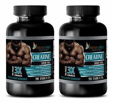 Creatine Tablets - CREATINE TRI-PHASE 3X 5000mg - Weight Gain Supplement 2B