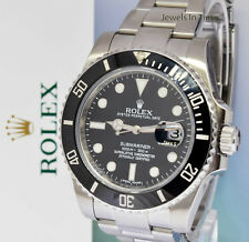 ** Rolex Submariner Date 40mm Steel Ceramic Mens Watch Box/Papers 116610LN **