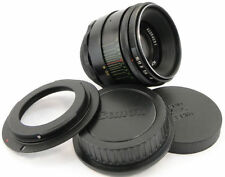 ⭐SERVICED⭐ HELIOS 44-2 58mm f/2 USSR Lens M42 + Adapt. Canon EOS EF Mount Camera