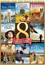 8Movie color DVD Time Wolf,RED FERN GROWS,SEVEN ALONE,Ron HOWARD Beverly GARLAND