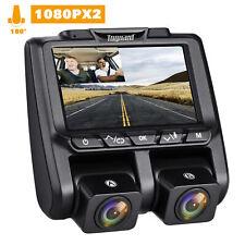 "TOGUARD 3"" LCD DashCam FHD 1080P+1080P Dual AutoKamera 340° DVR Recorder Cameras"