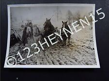 WW2 Ostfront Eastern Front Army Troops Schneefalle Original Press Photo 1943