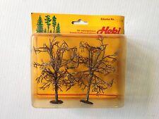 "Heki 1508,  2 - Apple Trees, 5"" Tall, Undecorated,  New Mint In Box"