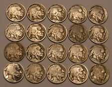 Half Roll of Readable Date Buffalo Nickels-20 Coins in All!