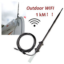 Outdoor USB WiFi Adapter 150Mbps 13dBi High Power WiFi Antenna Signal Receiver