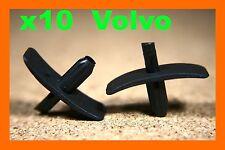 10 Volvo Sombrero forro de capucha Radiador aislamiento Sello Panel Pin Presilla Cilp
