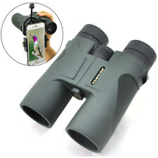Visionking 10x42 Hunting Roof Binoculars Telescope Birding & Smart Phone Adapter