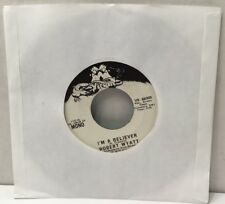 "Rare Robert Wyatt I'm A Believer Mono / Stereo 45 rpm 7"" Record 1974 Virgin VG"