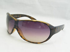 Ray Ban 4081 710/13 Shield Wrap Sunglasses Scratches To The Lens