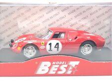 1968 Ferrari 250 LM #14 24 Hours of LeMans Gregory-Klob Best 1:43 9294