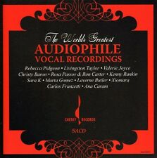 World's Greatest Audiophile Vocal Recordings by Various Artists (CD, Sep-2006, Chesky Records)