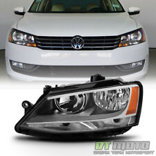2011-2017 Volkswagen Jetta [Halogen Model] Headlight Headlamp Left Driver Side