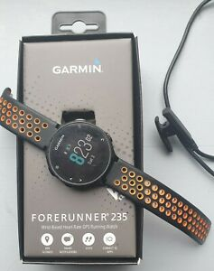 Garmin Forerunner 235 wrist Heart Rate Monitor GPS Running Watch -  used