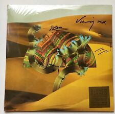 DJANGO DJANGO - DEBUT LIMITED EDITION DOUBLE HAND SIGNED RECORD + CD AUTOGRAPHED