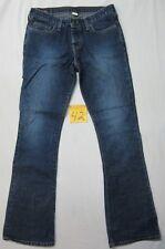 Abercrobie & Fitch Indigo Jeans Size 2Reg Button Fly W32 L32.5 *NWOT*
