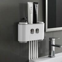 salle de bains Porte-brosse à dents distributeur automatique dentifrice Multi