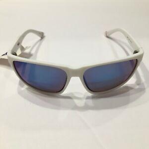 FILA Sunglasses SF9337 6VCB White/Mirrored Blue 58 mm Non-Polarized