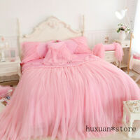 Luxury Princess Fleece Lace Wedding Bedding Set Duvet Cover Flannel Velvet 2020