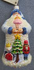 Patricia Breen Christmas Ornament Tchaikovsky Santa w Clara Nutcracker Suite