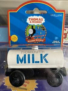 Thomas And Friends Tidmouth Milk Tanker New Learning Curve wooden