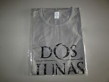 NEW Mens Large Dos Lunas Grey Tequila Short Sleeve Beer Shirt Clothing T-Shirt