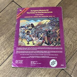dungeons and dragons Keep on the borderlands B2 Module Gary Gygax