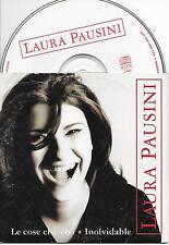 LAURA PAUSINI - Le Cose Che Vivi / Inolvidable CD SINGLE 2TR EU CARDSLEEVE 1997