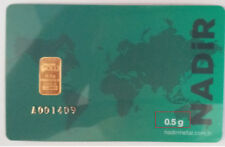 Goldbarren 0,5 1/2 Gramm 9999 feingold Gold Barren Sammlerstücke &Investitionen