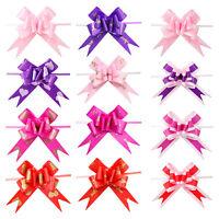 10pcs ruban tirer noeuds fleur décoration de mariage emballage cadeau bricol IY