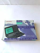 Sharp YO-530 256KB Personal Information Organizer 20 x 8 Display fehlt Broschüre