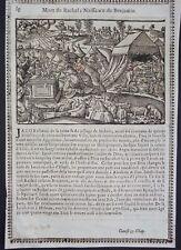 Gravures sur bois Woodcut print Jean Cousin Figures de la Sainte BIBLE Folio 37