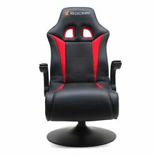 X-ROCKER RALLY PEDESTAL GAMING CHAIR - VIDEO GAME CONSOLE ROCKER CHRISTMAS GIFT