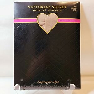 Victorias Secret Sensual Shapers Womens Medium Buff Sheer to Waist Shaper
