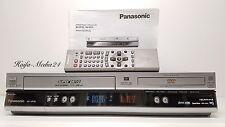 Panasonic nv-vp30 DVD Player/VHS VCR Recorder + FB 1 an élargie.
